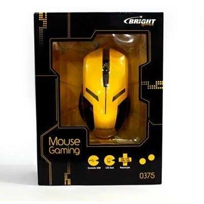 Mouse C/fio Usb Gaming Bright Cx 1 Un na internet