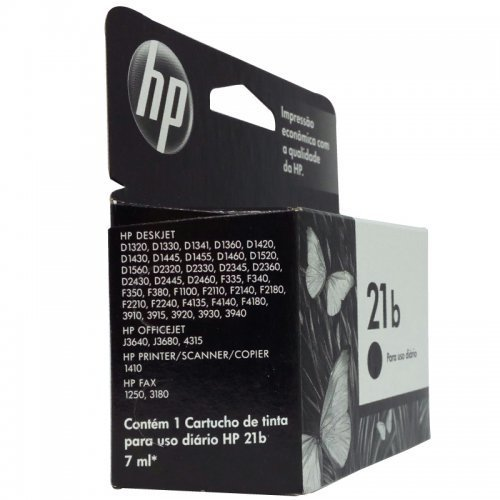 Cartucho Hp 21b Preto C9351bb na internet