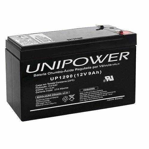 Bateria Para Nobreak 12v 9.0ah Up1290-06c025 Unipower - comprar online