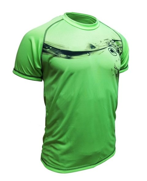 Remera Running Fast Green