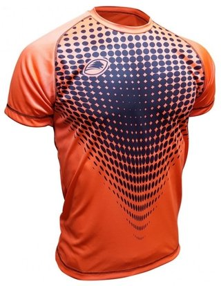 Remera Running Fast Orange