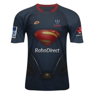 Camiseta Rugby Niño Superman
