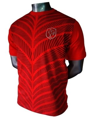 Remera France Red