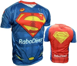 Camiseta de Juego Adulto Superman