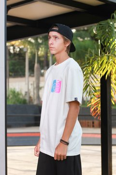 Camiseta Édem Brushed Off White na internet