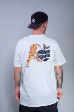 Camiseta Édem Tiger Off White
