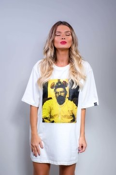 Camiseta Édem Breaking Bad Walter Mask Off White - comprar online