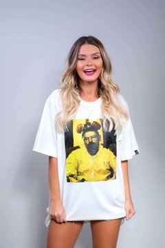 Camiseta Édem Breaking Bad Walter Mask Off White
