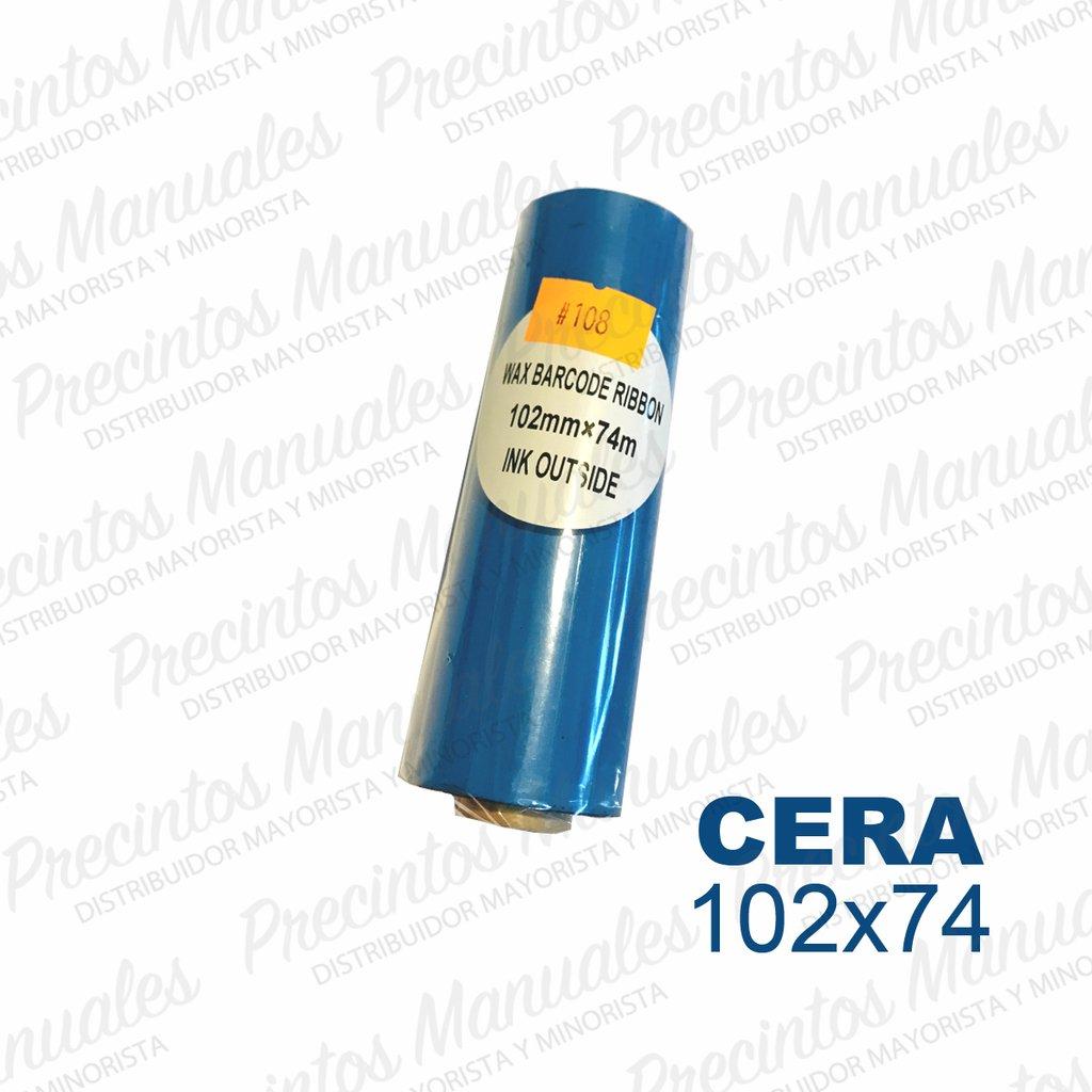 Ribbon Cera 102x74 Negro (TDW108) Out Para Papel
