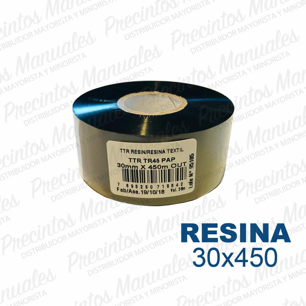 Ribbon Resina 30x450 Negro (TR45) Out Para Poliamida · Opp · Void Sintetica