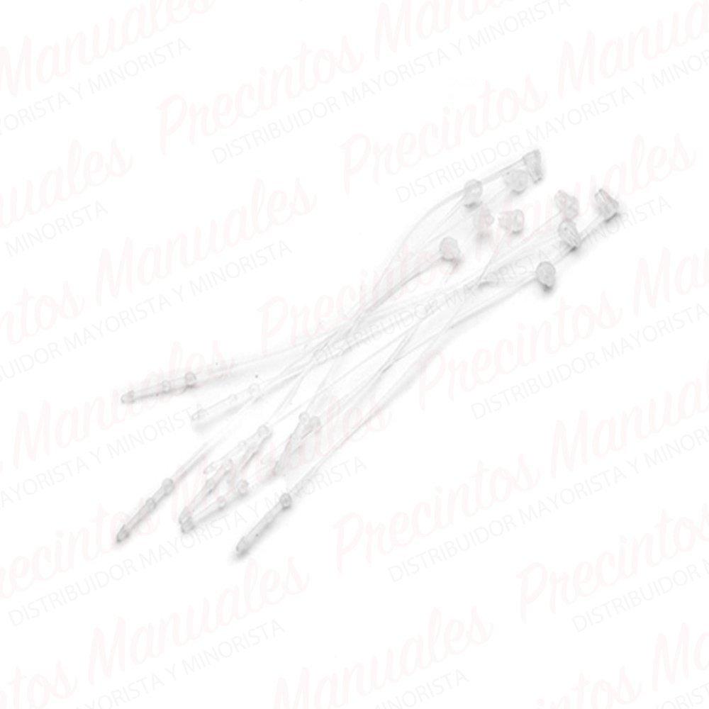 "Precintos Manuales Loop Pins 11"" · 28cm Paq. x1000"