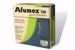 Cable Afumex 750 1x6 Cobre Rollo X 100mt Prysmian
