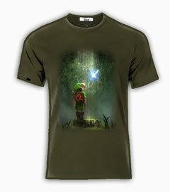 Playeras O Camiseta Link Zelda Quest Game Forest!!! en internet