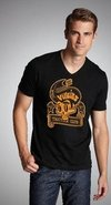 Playera Rockabilly Calavera Tatoo Peinado Los 50's