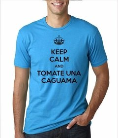 Playera Keep Calm Tomate Una Caguama en internet