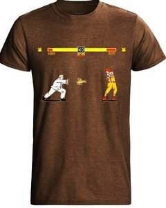 Playera Pelea Street Fighter Gral Kentuchy Vs Ronal Mcdonald en internet