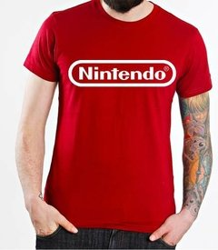 Playera O Camiseta Nintendo Logo Original Clasico Todas Tall en internet