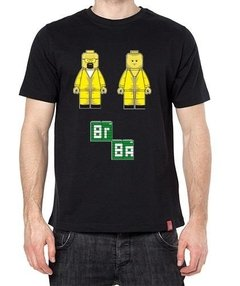 Playera Camiseta Breaking Bad Walt Y Jesse Lego Meta Receta en internet