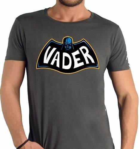 Playera Darth Vader + Batman Gotham Logo Star Wars