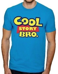 Playera O Camiseta Cool Story Bro Toy Story Logo Divertido en internet