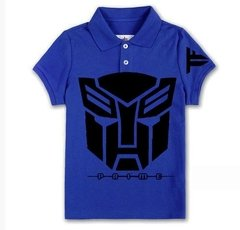 Playera Optimus Prime Polo Transformers Logo Mascara