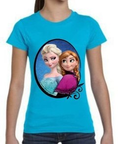 Playera Frozen Anna Y Elsa Princesas !! Disney Kids