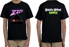 Playeras Angry Birds 3 Diseños Diferentes Space Todas Tallas en internet