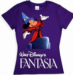Playera Mickey Mouse Mago Sombrero Disney Fantasia  en internet