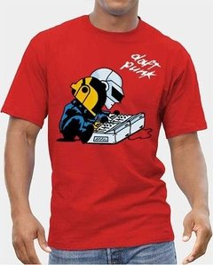 Playera Daft Punk Cascos Charlie Brown Snoopy 100% Calidad en internet