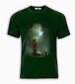 Playeras O Camiseta Link Zelda Quest Game Forest!!!