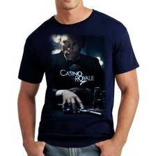 Playera 007 Casino Royale Classic Pelicula Poster James Bond - Jinx
