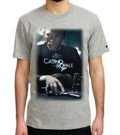 Playera 007 Casino Royale Classic Pelicula Poster James Bond