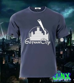 Playera Gotham + Disney Castillo Ciudad De Batman, Gordon