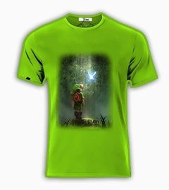 Playeras O Camiseta Link Zelda Quest Game Forest!!! - Jinx