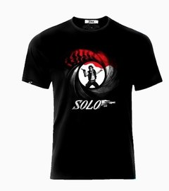 Playera Han Solo + James Bond 007 Mision De Estreno