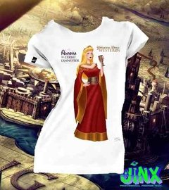 Playeras Princesas De Disney + Game Of Thrones Juego Tronos