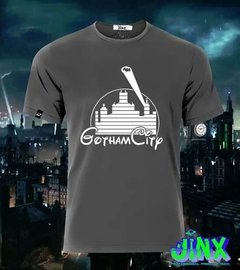 Playera Gotham + Disney Castillo Ciudad De Batman, Gordon - Jinx