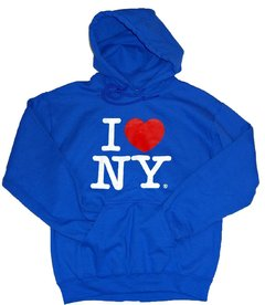 playera azul i love new york