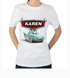 Playera O Camiseta Personalizada Cars Disney Todas Tallas! en internet