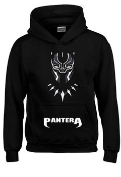 Sudadera Black Panther (marvel Comics !! Con Gorra