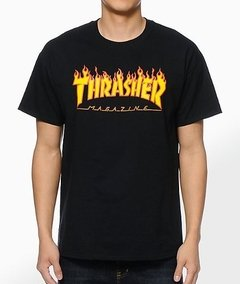 Playeras Thrasher Flame Magazine