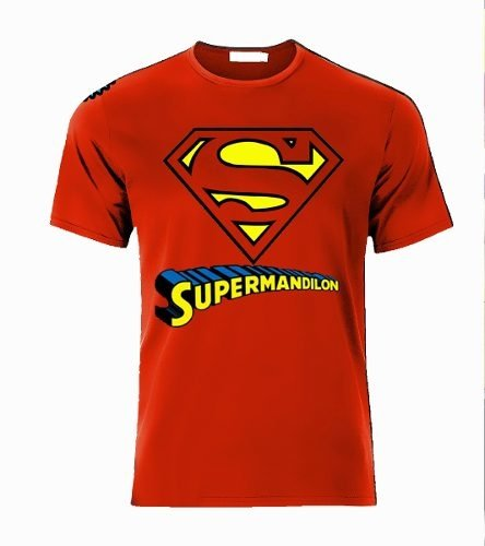 Playera Superman Dilon Logo Para Mandilones en internet