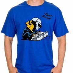 Playera Daft Punk Cascos Charlie Brown Snoopy 100% Calidad