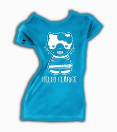Playeras O Camiseta Hello Kitty + Hannibal Clarisse  en internet