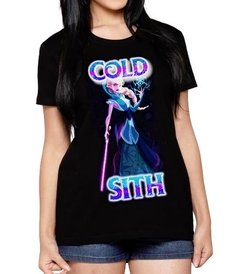 Playera Elsa Frozen Princesa Sith Star Wars + Disney!!!
