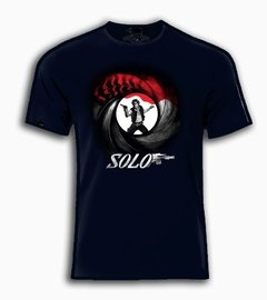 Playera Han Solo + James Bond 007 Mision De Estreno en internet