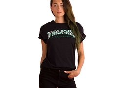 Playera Thrasher Magazine Estampado Floreado