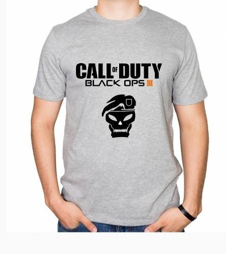 Playera Camiseta Call Of Duty Black Ops 100% Calidad - comprar online