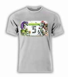 Playera C/nombre Plantas Vs Zombies Warfare Xbox Personaliza en internet