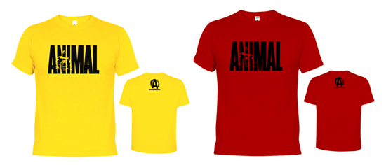 camisetas y playeras animal pak